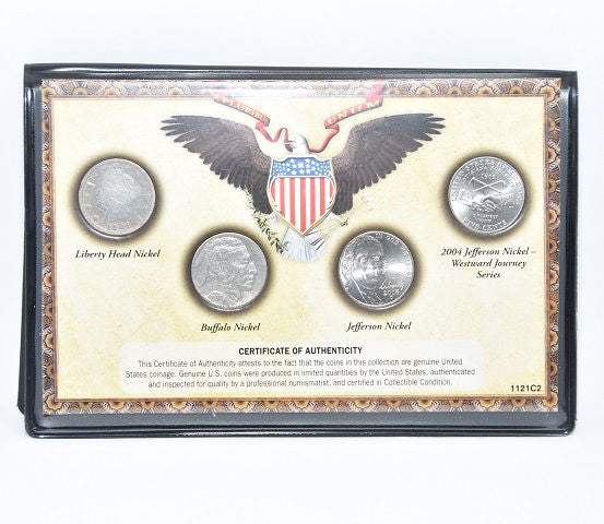 U. S. Mint 120 Years of America Classic Nickels From 1912 to Present -