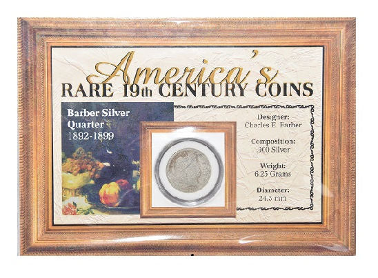 The Morgan Mint America's Rare 19th Century Coins 1892-99 Quarter & 1859-99 Cent -