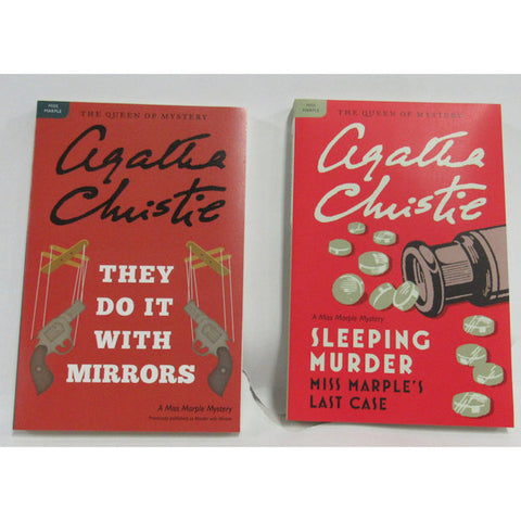 Sleeping Murder & They Do It with Mirrors by Agatha Christie - Paperback - Brand New