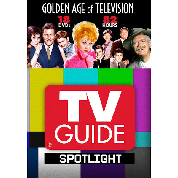 TV Guide Spotlight: Golden Age of Television (DVD, 2014, 18-Disc Set) -