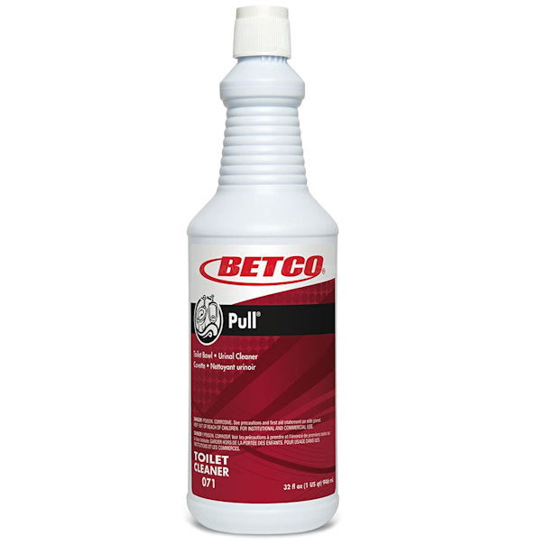 Betco 07112-00  1 Qt Bottle Pull Toilet Bowl Cleaner 12 / CS  (New Damaged Box) - New other (see details)