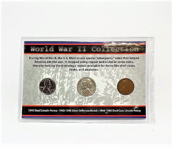 First Commemorative Mint World War II Collection Set -