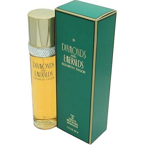 Elizabeth Taylor Diamonds and Emeralds Women, Eau De Toilette Spray, 1.7-Ounce - New