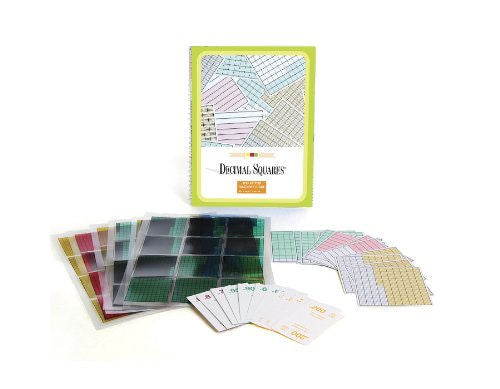 American Educational Squares decimales Starter Set -
