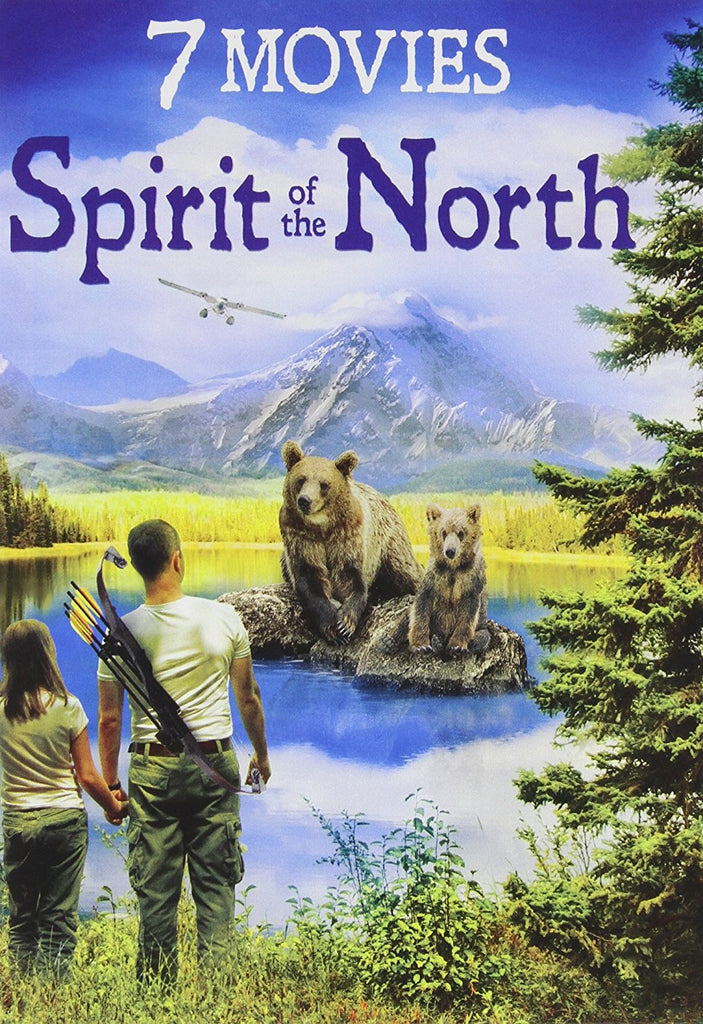 7-Movie Spirit of the North Film Collection DVD Graham Greene, Paul Gross -