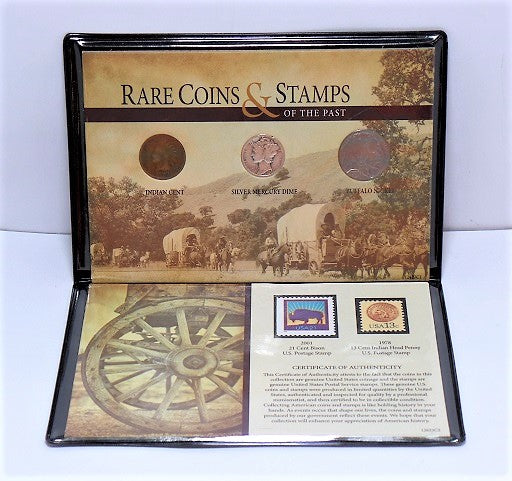 Rare Coins and Stamps of the Past Collection (5-Piece) -