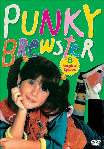 Punky Brewster - 8 Complete Episodes DVD -