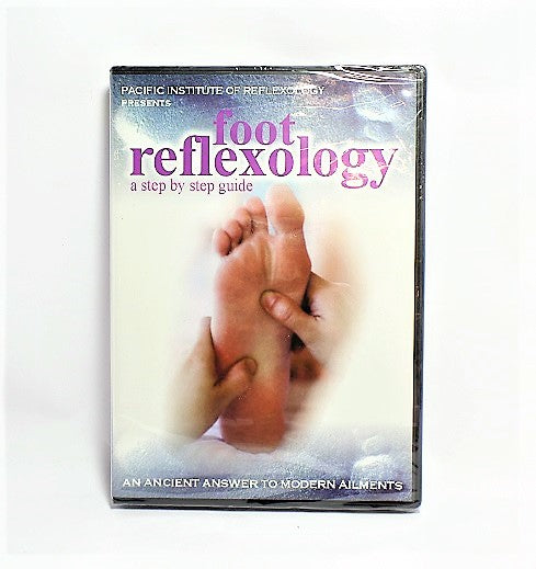 Pacific Institute of Reflexology: Foot Reflexology Step by Step DVD -