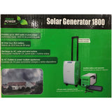 Nature Power Pak 1800-Watt Portable Solar Generator Starter Kit -
