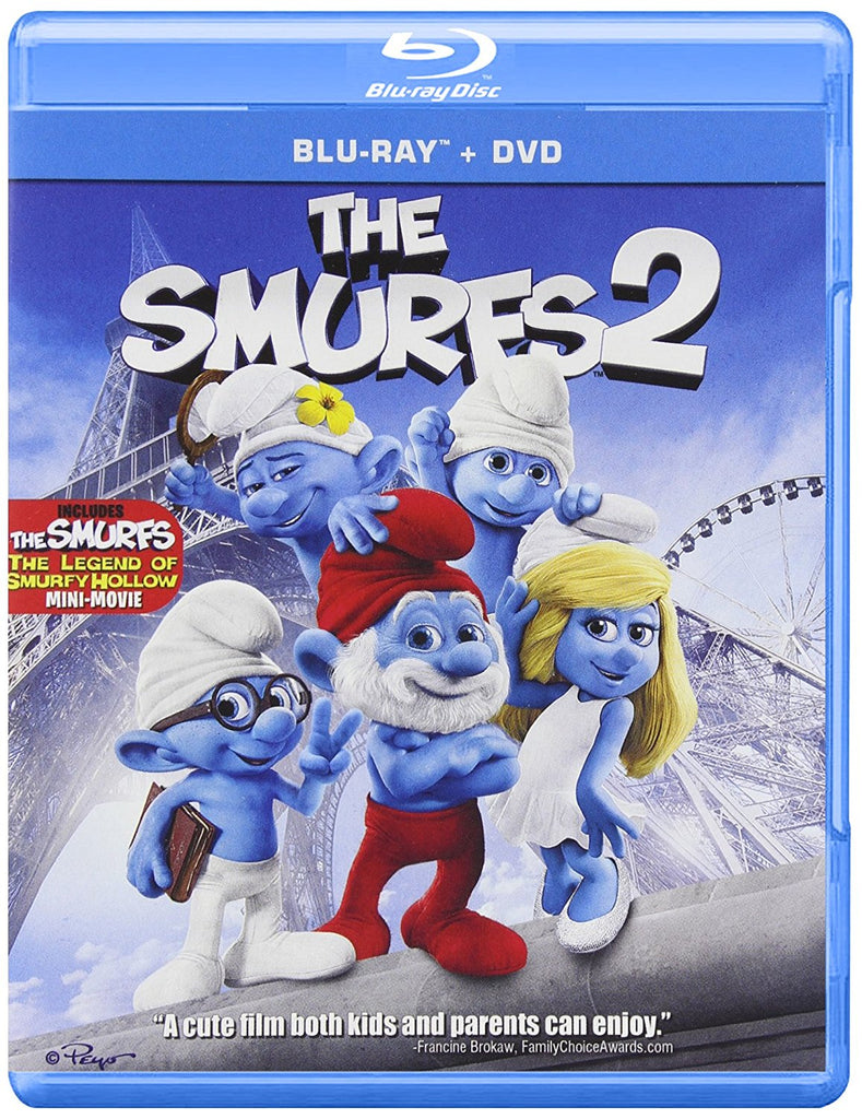 The Smurfs 2 Blu-ray / DVD  Raja Gosnell -