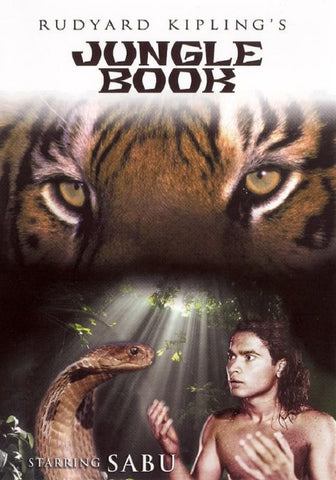 Jungle Book DVD Sabu -