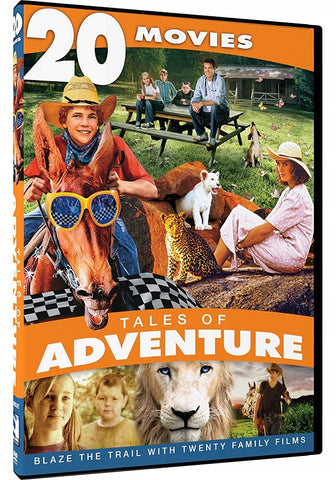 Tales of Adventure - 20 Movie Collection DVD Bing Crosby -