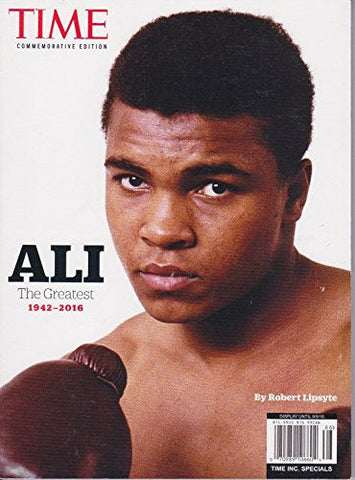Time Commemorative Edition Ali The Greatest 1942-2016 - Brand New