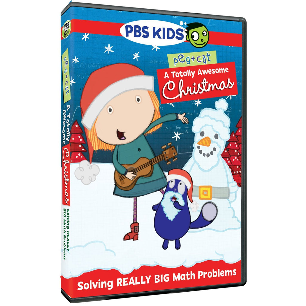 Peg + Cat: A Totally Awesome Christmas DVD -