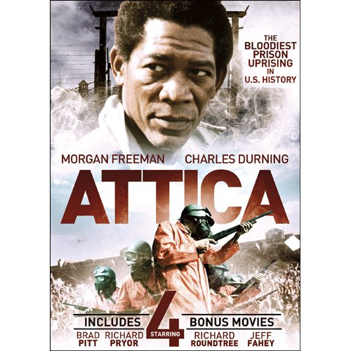 Attica with 4 Bonus Films DVD Morgan Freeman, Ernie Hudson -
