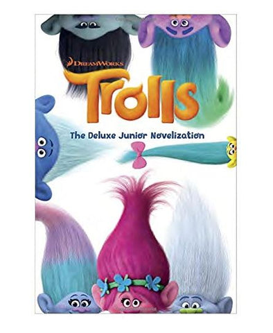 Dreamworks TROLLS: The Deluxe Junior Novelization Hardcover Book -