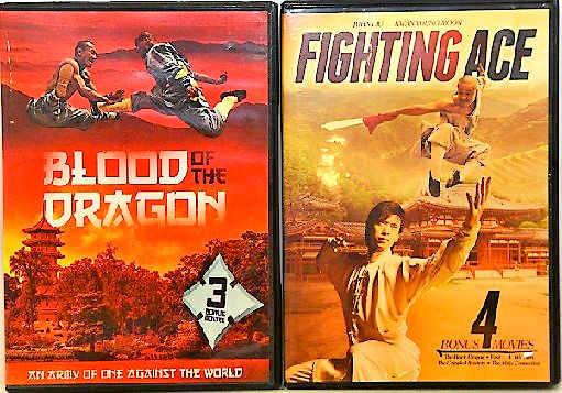 Blood of the Dragon/Militat Eagle/Fighting Ace/The Crippled Master DVD -