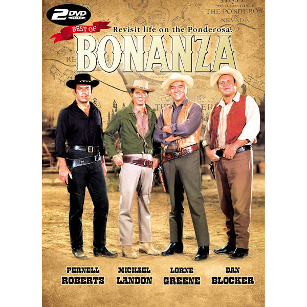 Best of Bonanza 2-DVD Dan Blocker -