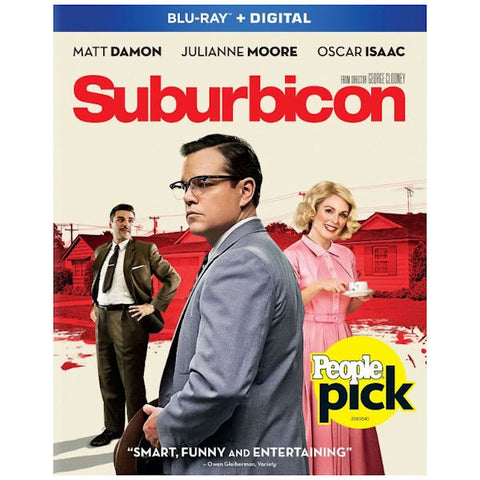 Suburbicon Blu-ray Disc Matt Damon - Like New