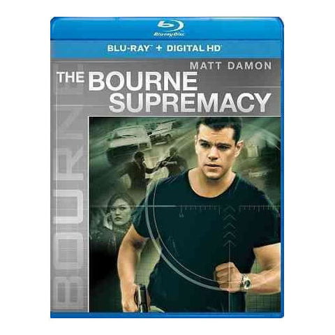 The Bourne Supremacy Blu-ray Matt Damon -
