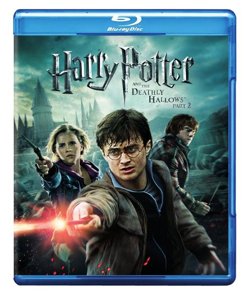 Harry Potter and the Deathly Hallows: Part II Blu-ray/DVD 3-Disc Set -