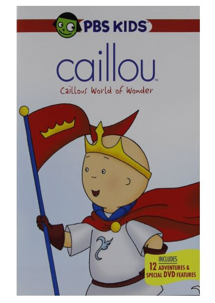 Caillou: Caillou's World Of Wonder DVD -