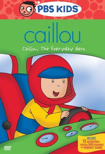 Caillou: Caillou, The Everyday Hero DVD -