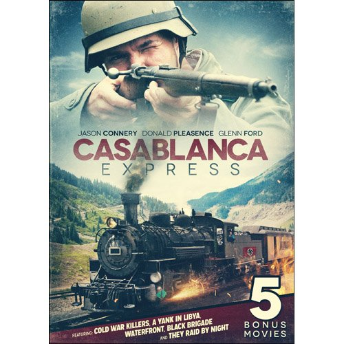 Casablanca Express Includes 5 Bonus Movies DVD Glenn Ford, Michael Culver -