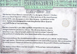First Commemorative Mint 20th Century Coins 1900-1916 Barber Silver Dime -