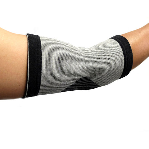 Bamboo Charcoal Heat Therapy Elbow Support, L/XL - New