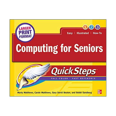 Computing for Seniors QuickSteps 1st Edition - Brand New