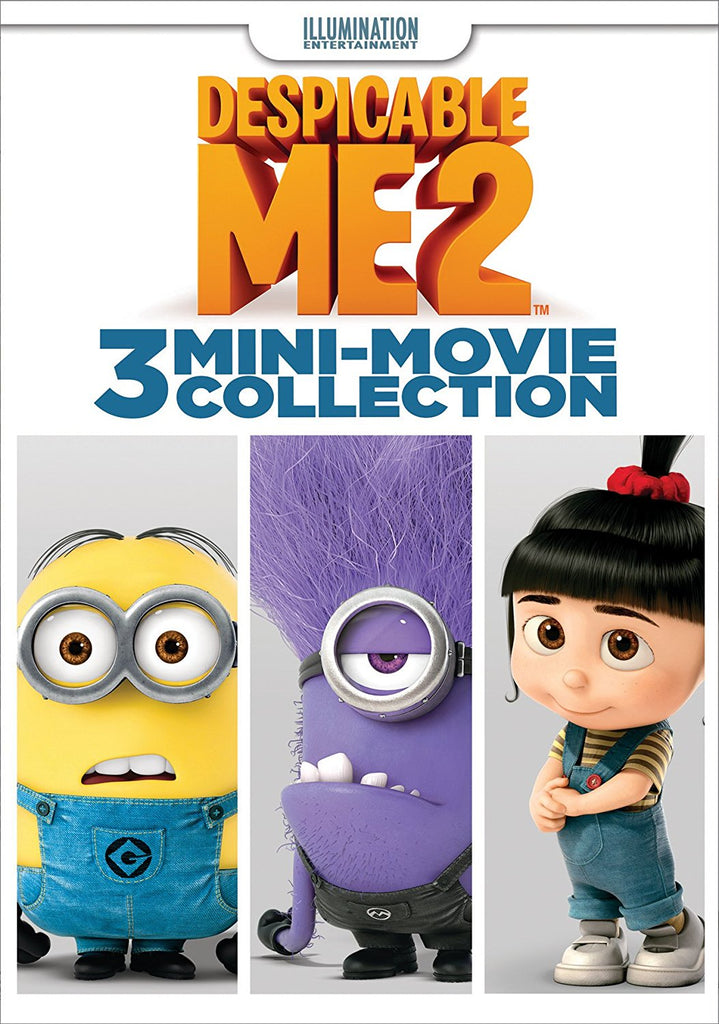 Despicable Me 2: 3-Mini-Movie DVD Pierre Coffin, Miranda Cosgrove -