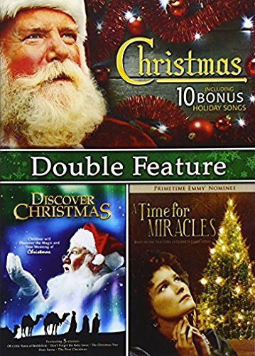 Christmas Double Feature: A Time for Miracles / Discover Christmas DVD -