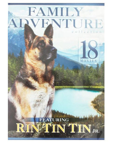 18-Movie Family Adventure Collection DVD Featuring Rin Tin Tin Jr. -