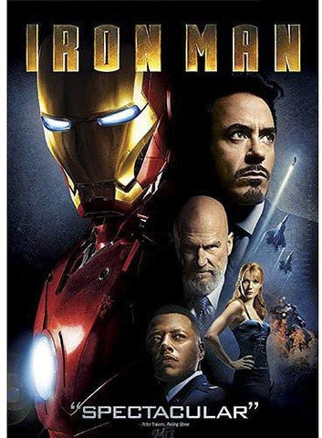 Iron Man DVD Terrence Howard - Brand New