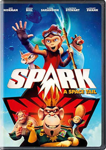 Spark: A Space Tail DVD Jace Norman - Brand New