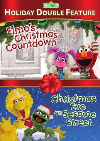 Elmo's Christmas Countdown/Christmas Eve on Sesame Street DVD - Brand New