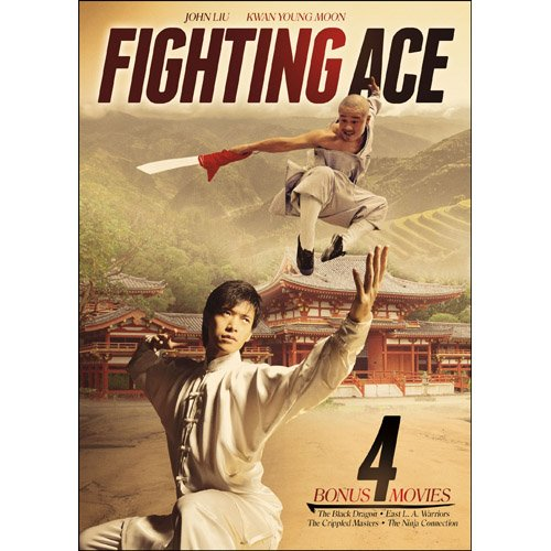 Fighting Ace (1979) with 4 Bonus Movies DVD John Liu, Chung-Erh Lung -