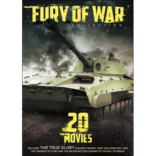 Fury of War: 20 WWII Documentaries DVD Narrated by Clark Gable -