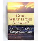 The Power of Faith/Keeping Faith During Tough Times/God, What Is The Answer? -