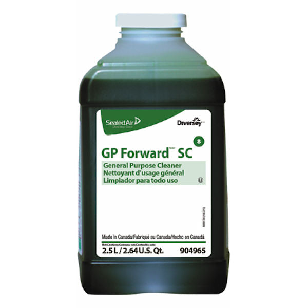 Diversey GP Forward SC General Purpose Cleaner, Case of 2 (2.5 L each) - New other (see details)