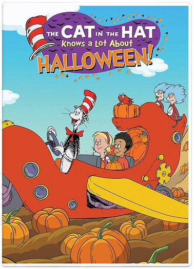 The Cat in the Hat Knows a Lot About Halloween DVD Martin Short -