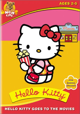 Hello Kitty Goes to the Movies DVD -