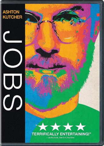 Jobs DVD Ashton Kutcher - Like New