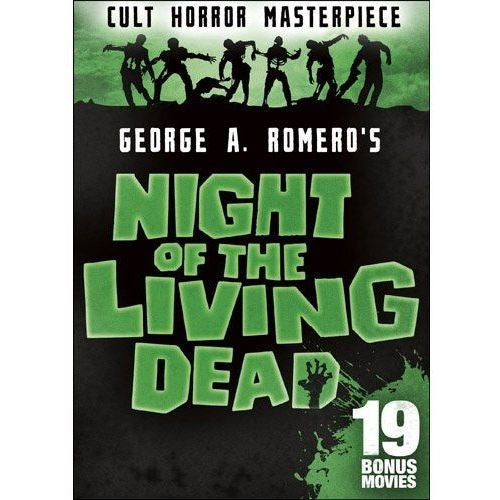 Night of the Living Dead: Includes 19 Bonus Movies DVD Duana Jones -