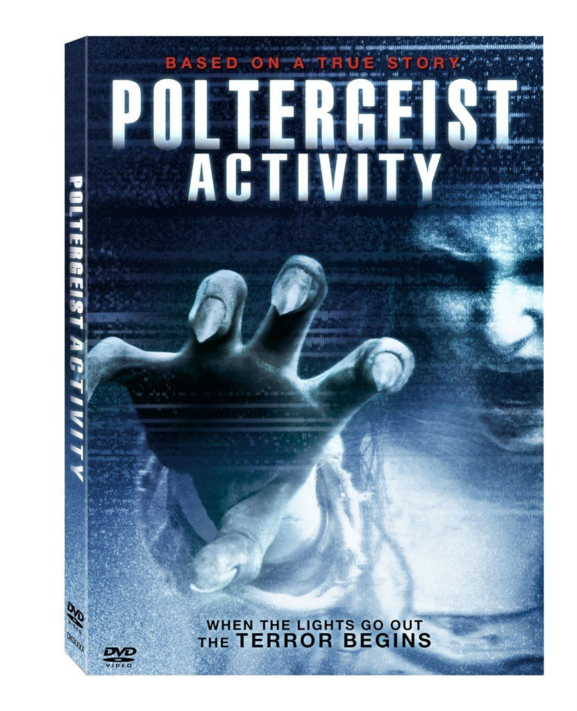 Poltergeist Activity DVD Lee Bane, Natalie Martins -