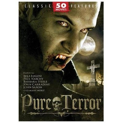 Pure Terror: 50 Movies DVD - Like New