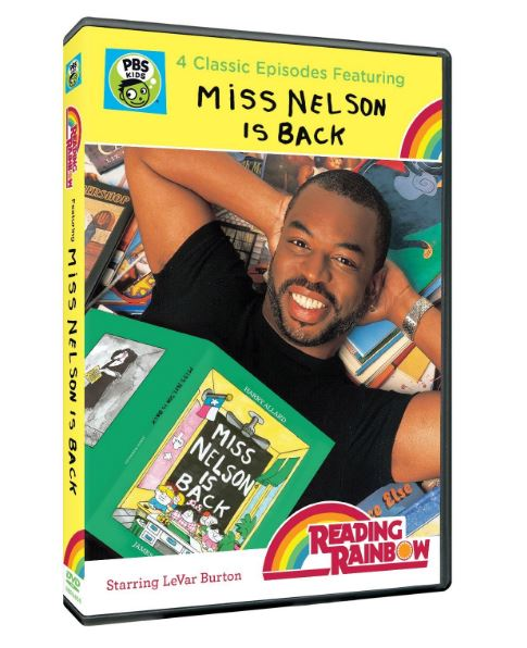 Reading Rainbow: Miss Nelson Is Back DVD LeVar Burton -