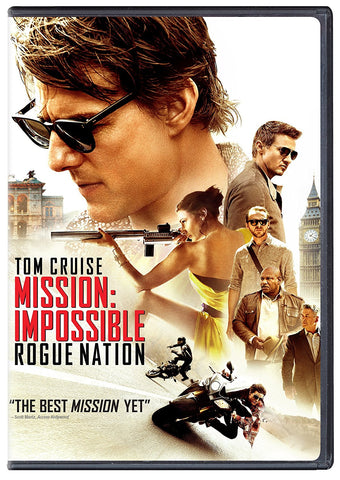 Mission: Impossible-Rogue Nation DVD Tom Cruise, Jeremy Renner - Brand New