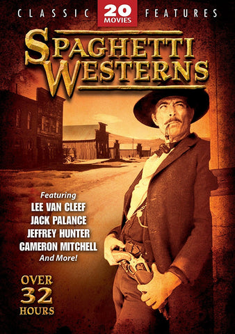 Spaghetti Westerns 20 Movie Pack DVD Box Set - Brand New